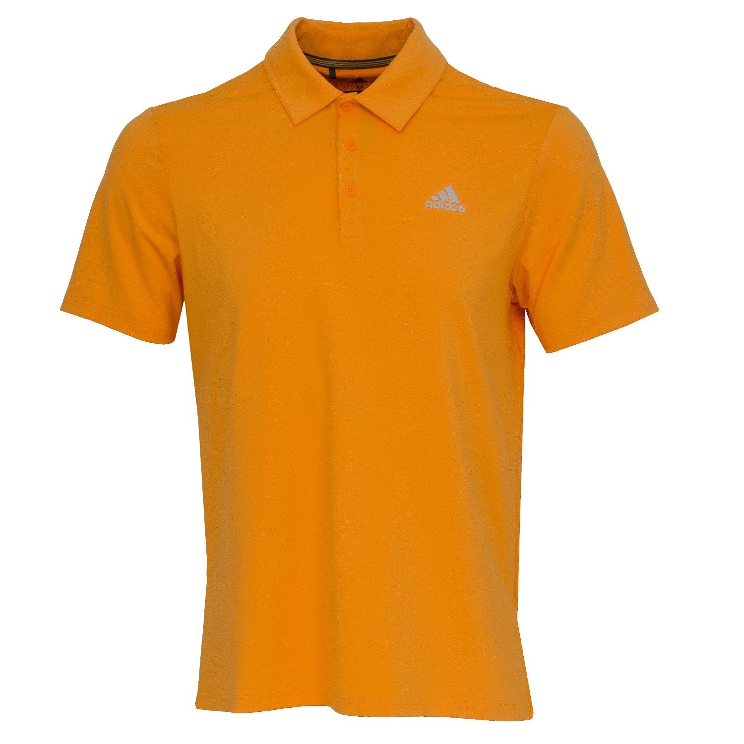 adidas golf polo orange