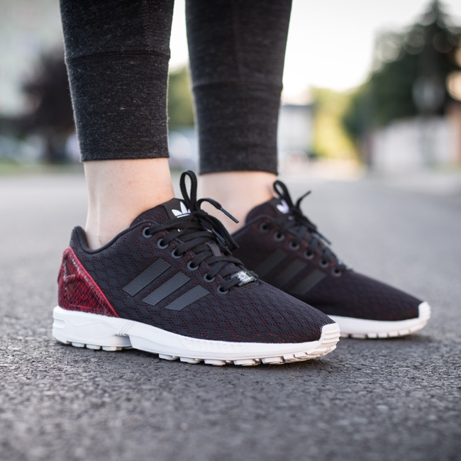 adidas sneakers Originals ZX Flux dames zwart TWM Tom