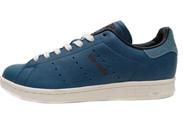 blauwe adidas sneakers stan smith dames