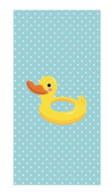 Clarysse Beach Towel Duck 70 X 140 Cm