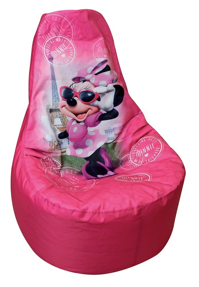 Big Bag Zitzak.Disney Beanbag Minnie Mouse 67 X 59 X 54 Cm Pink Twm Tom Wholesale