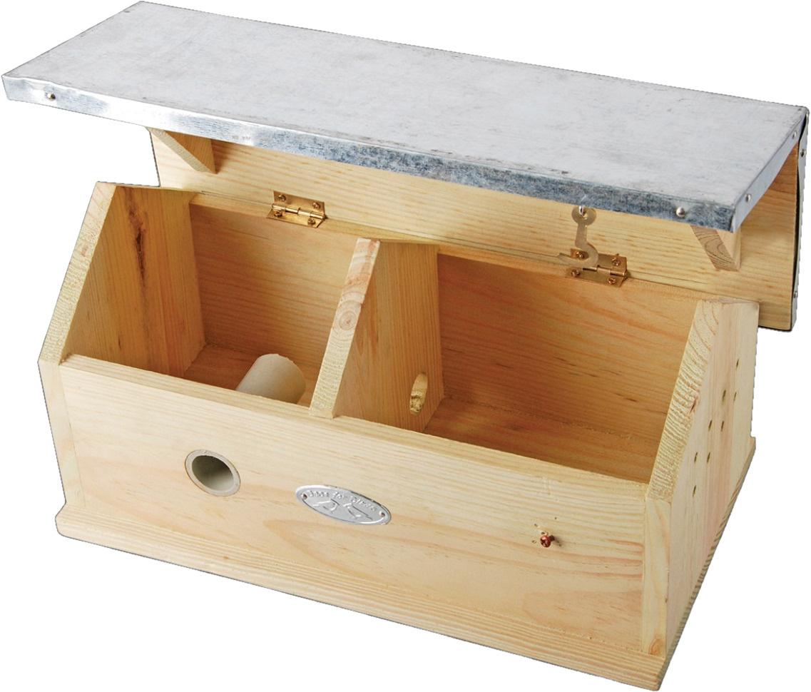 Esschert Design Bumblebee House 29 X 17 X 15 Cm Wood Zinc Natural Twm Tom Wholesale Management