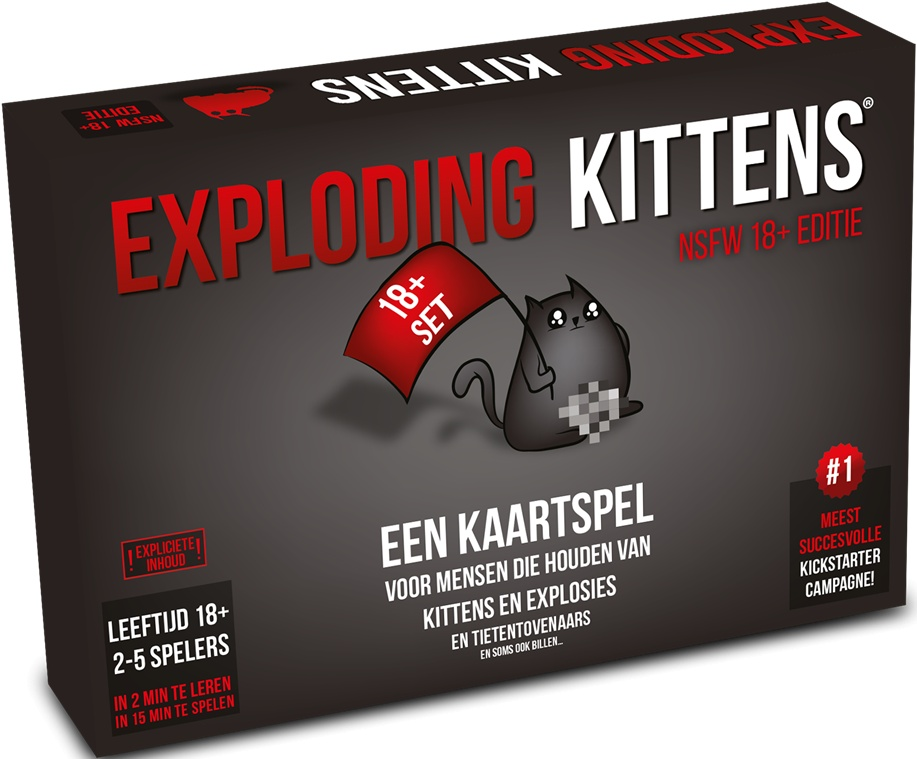 Exploding Kittens Card Game Nlnsfw Twm Tom Wholesale Management