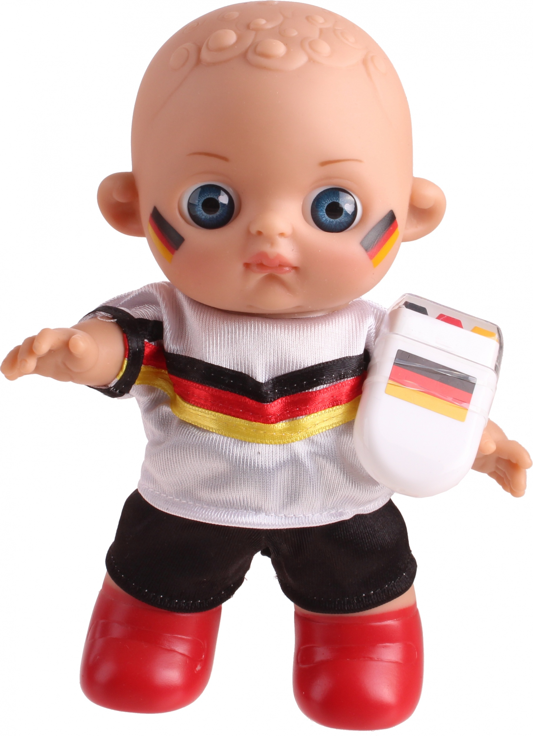 Falca Football Baby Doll With Makeup Duitsland20 Cm Twm Tom Wholesale Management