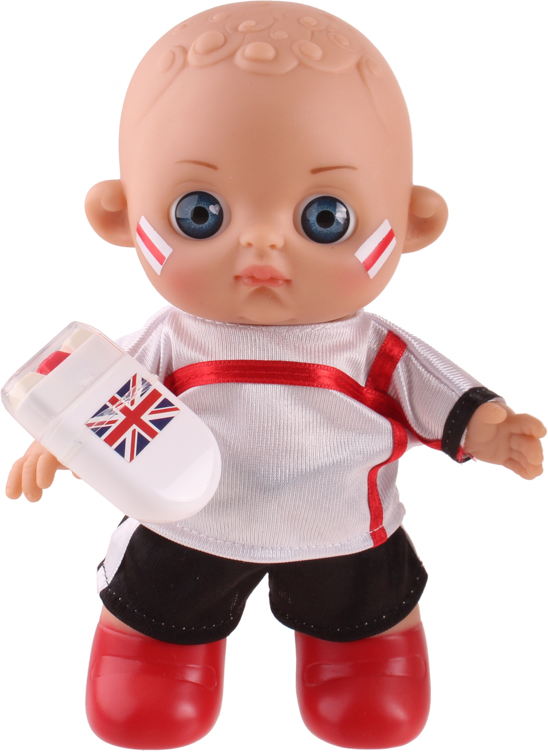 Falca Football Baby Doll With Makeup Engeland20 Cm Twm Tom Wholesale Management