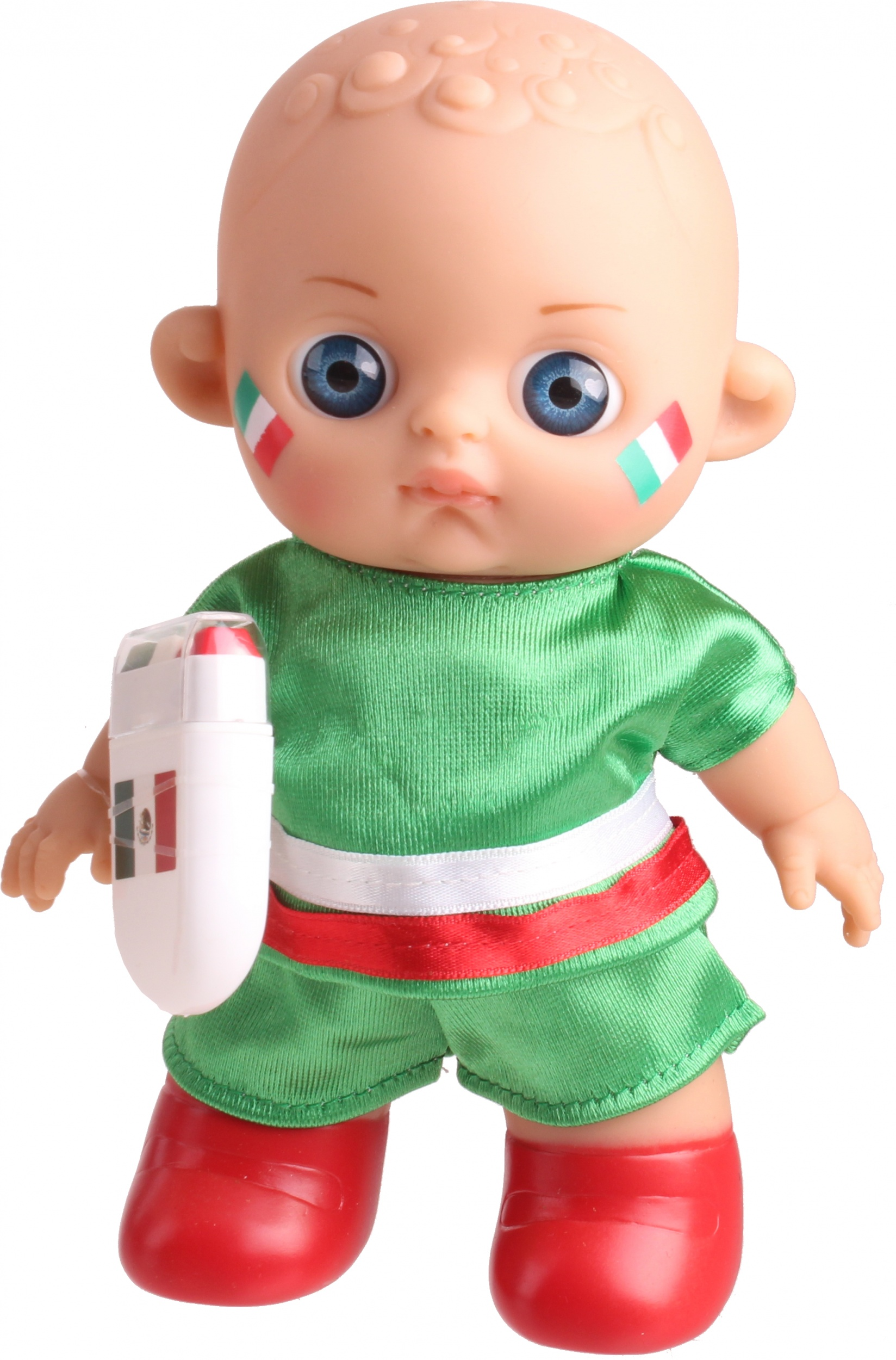 Falca Football Baby Doll With Makeup Mexico20 Cm Twm Tom Wholesale Management