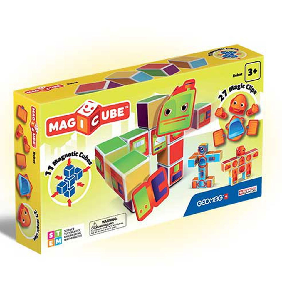 Magicube Free Building Set 27 Magnetic Blocks