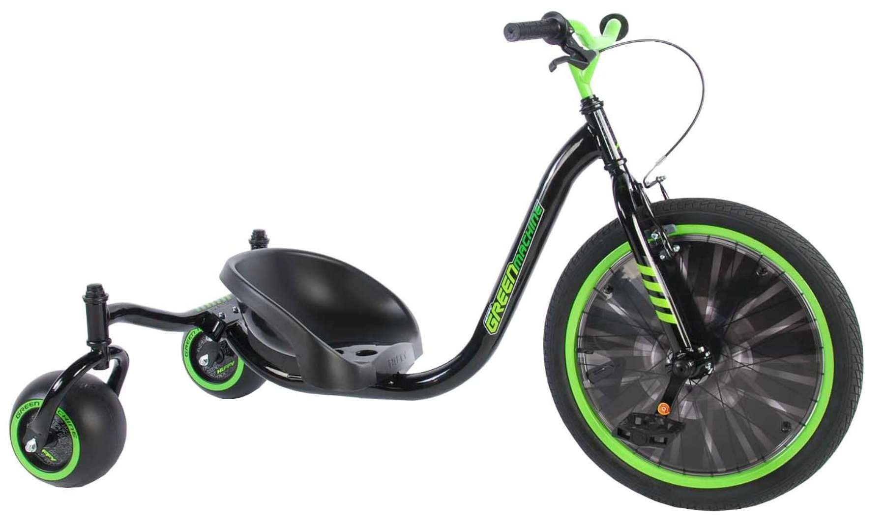 Huffy Green Machine Drift Trike 20 Inch Junior Greenblack Twm Tom