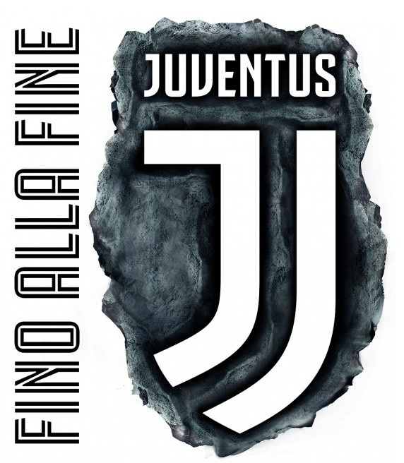 Juventus Wall Sticker Maxi Logo Twm Tom Wholesale Management