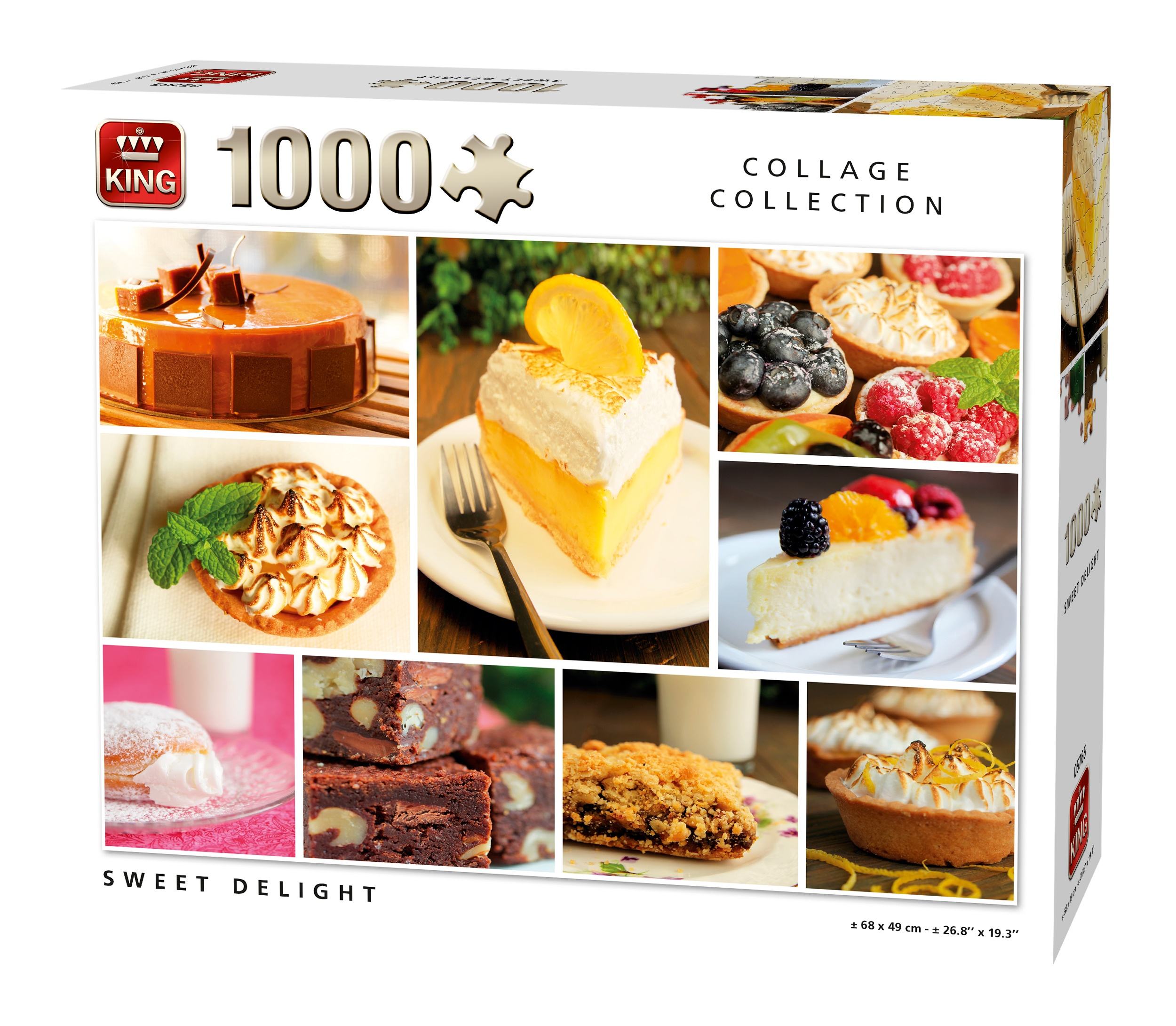 King Cuisine Bv.King Jigsaw Puzzle Sweet Delight 1000 Pieces Twm Tom