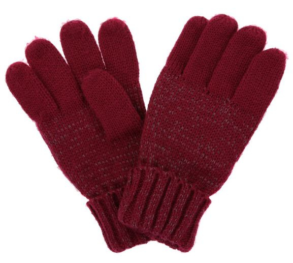 Regatta Childrens Luminosity Glove Acrylic Knit With Reflective Thread and Polyester Fleece Lining Headwear