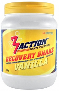3Action Recovery Shake Vanille 500 gram
