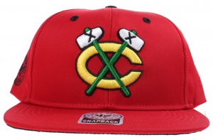 47 Brand Chicago Blackhawks pet one size rood/zwart