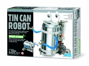 4M Fun Mechanics Kit: TIN Can Robot