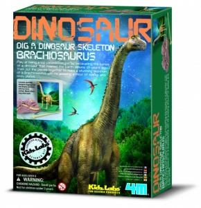 4M Kidzlabs: DIG-Je-Dinosaur-On French Brachiosaurus