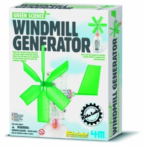 4M Kidzlabs Green Science: Windmill Generator French