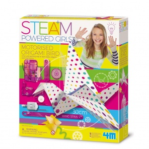 4M Steam Powered Girls: gemotoriseerde origami vogel