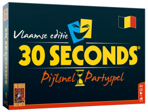 999 Games bordspel 30 Seconds: Vlaamse Editie