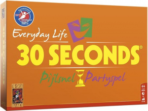 999 Games partyspel 30 Seconds Everyday Life 31 cm oranje