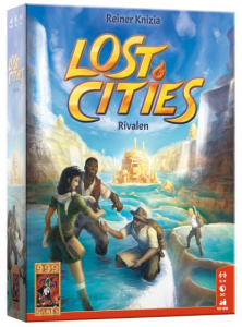 999 Games kaartspel Lost Cities: Rivalen