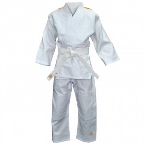 adidas judopak Evolution II junior wit