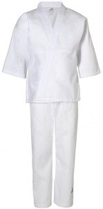 adidas judopak J181 junior wit