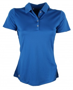 adidas polo Performance dames blauw