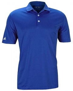 adidas polo Performance heren blauw