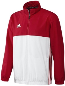 adidas T16 jack heren rood/wit