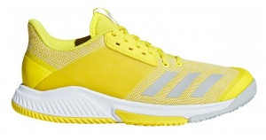 adidas zaalschoenen Crazyflight Team dames geel
