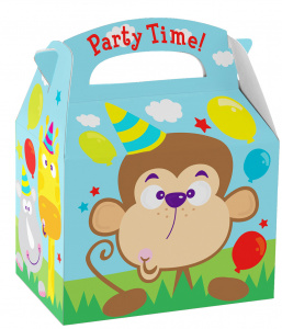 Amscan cadeauverpakking jungle junior papier 12 x 15 cm