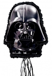 Amscan piñata Star Wars Darth Vader Outline 55,3 cm zwart