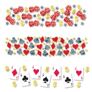 Amscan Place Your Bets confetti 34 g