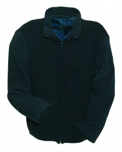 Anuy Fleecevest Grenoble unisex navy