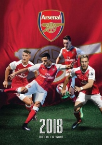 Danilo kalender 2018 We are the Arsenal 30 x 42 cm