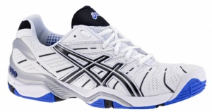 ASICS Tennisschoenen Gel Resolution 4 Clay heren wi/bl