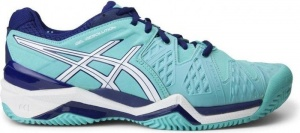 ASICS Tennisschoenen Gel Resolution Clay 6 dames aqua