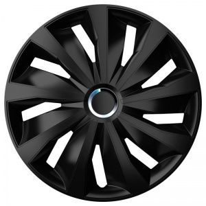 ProPlus Roco Wheel Trim 14 Inch ABS Black//Silver per Pack