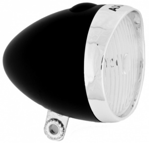 AXA Batterij koplamp Classic Switch LED zwart