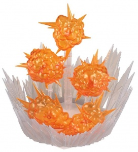 Bandai Dragon Ball bouwpakket Burst Effect oranje 22-delig