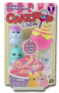 Basic Fun Cakepop Cuties Multipack paars 4-delig