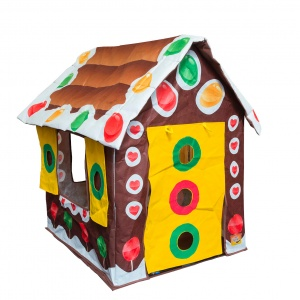 Bazoongi Kids speeltent Gingerbread House 60 x 37 x 17 cm