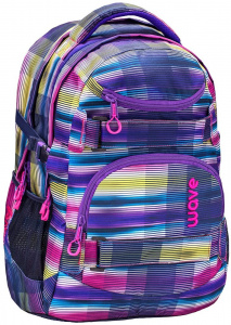 Belmil rugzak Infinity 30 liter 43 x 31 cm polyester paars/roze