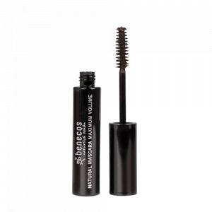 Benecos mascara Smooth dames 8 ml bruin