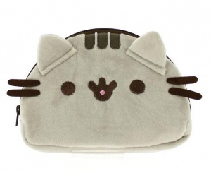 Blueprint Collections etui Pusheen pluche beige 23 cm
