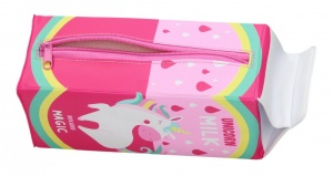Blueprint Collections etui Unicorn roze 20 x 7,5 cm