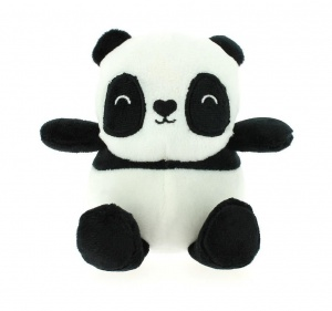 Blueprint Collections knuffel Happy Zoo panda 13,5 cm wit