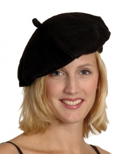 Boland baret France zwart one size