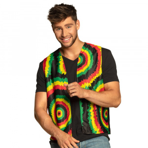 Boland mouwloos vest Rasta heren polyester maat M/L