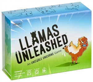 Breaking Games kaartspel Llamas Unleashed (en)